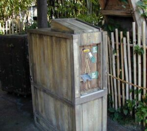 Safari FastPass Distribution Machine