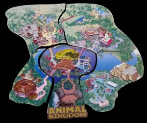 Disney's Animal Kingdom Pin Map