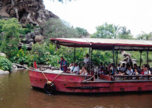 Discovery Riverboat Red near Animal Kingdom Tree of Life