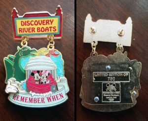 Discovery River Boats - Remember When Pin