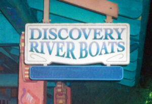 Discovery Riverboats Sign