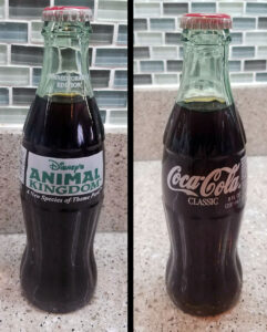 Inaugural Year Coke Bottles