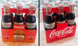 1998 Bottled Coke - Disney's Animal Kingdom Inaugural Year