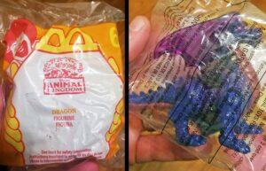 Disney's Animal Kingdom - McDonalds Happy Meal Toy Dragon - In Bag
