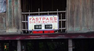 FastPass Distribution Times - Everest