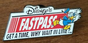 FastPass Donald Pin
