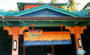 Radio Disney River Cruise Sign