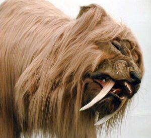 Dinosaur Jubilee Saber Tooth