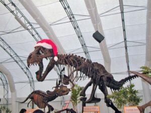 Dinosaur Jubilee Santa Claus T-Rex