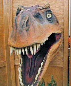 Dinosaur Jubilee T-Rex Head
